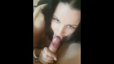 Oral 3 sum. 2 cocks and my pussy