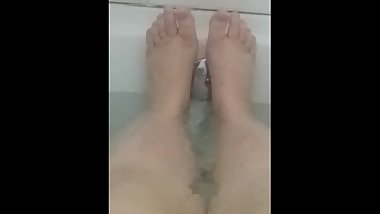 Bath Time - Foot Fetish