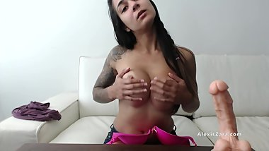 How to Jerk Off With My Bra JOI - Alexis Zara