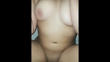 Teen with big tits gets fucked