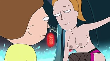 Naked Summer (Rick & Morty show)
