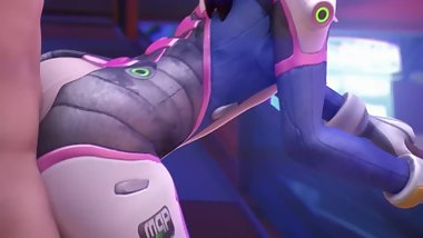 THE BEST OVERWATCH PORN D.VA HARD FUCK PUSSY
