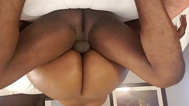 Ebony BBW enjoys getting fucked