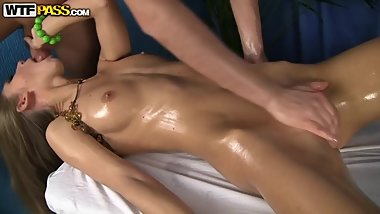 Massage fuck with Krystal Boyd