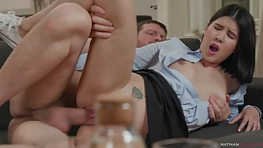 How I Fucked My Stepdad 2 Ep.3 - Lady Dee's in hot water and gives her cunt