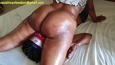 Tameka faceriding ass massage