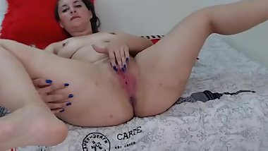 1 colombian shaved pink pussy show