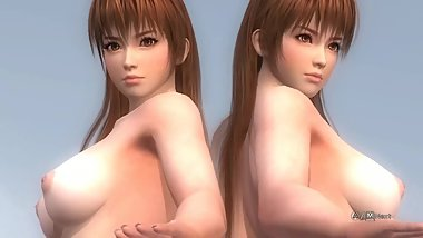 Dead or Alive 5 Nude - Kasumi & Phase 4