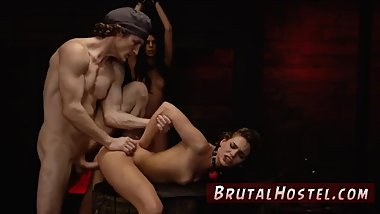 Teen bondage threesome hot cock hand domination extreme face