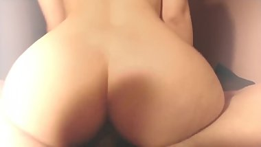 SHE RIDES MY DICK IN REVERSE COWGIRL