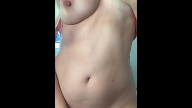 She is very horny and alone at home