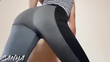 Sexy Brunette Big Ass Twerk