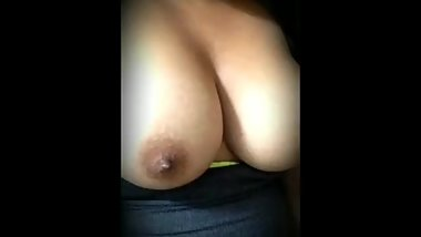 Bouncing my tits