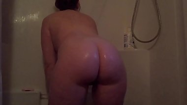 Stepsister Found My Hidden Shower Cam & Put On A Show For Me
