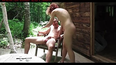 hot_couple_shaging_at_their_cabin_in_the_woods_720p