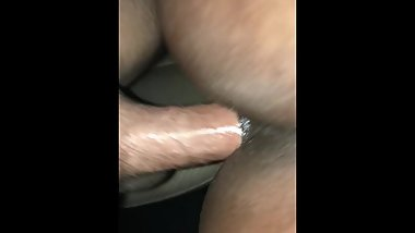 BACKSEAT RAW COCK FOR THIS EBONY TEEN I MET ON TINDER