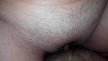 My GF ride me without condom! It's hard to not cum in her unprotected pussy