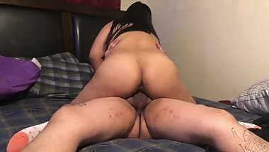 GIrlfriend let's me fuck her step sister 4K