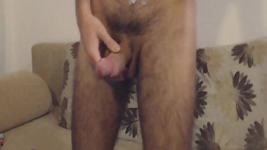 Thick Cum On The Hairy Chest Looks Awsome