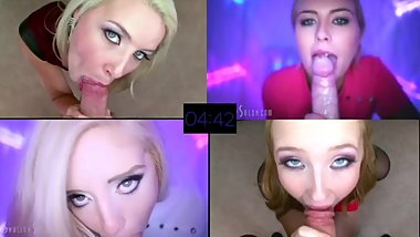 Fire Up Your Big Screen - 4 in 1 POV BJ