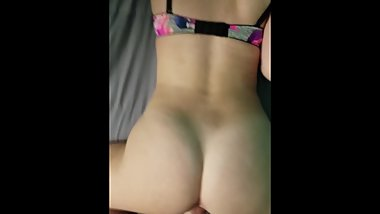 Pov quickie from behind